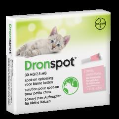 bayer dronspot kleine kat 30-7,5mg