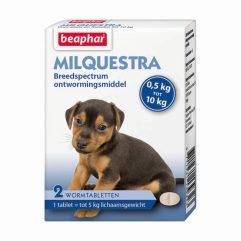 beaphar milquestra kleine hond pup