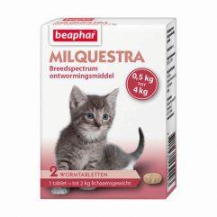 beaphar milquestra kleine kat kitten