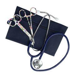 etui-kocher-verbandschaar-stethoscoop-blauw