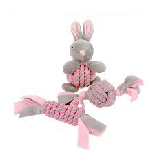 little-rascals-puppy-speelgoed-set-roze