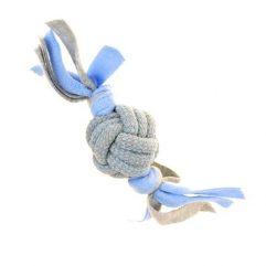 little-rascals-touwbal-tugger-met-fleece-blauw